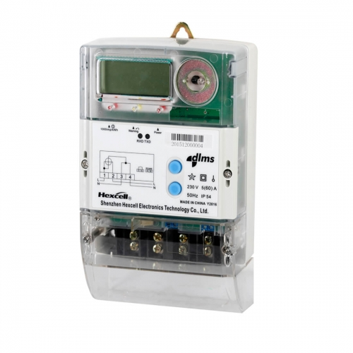 Smart Single Phase Postpaid PLC Meter DDS1088