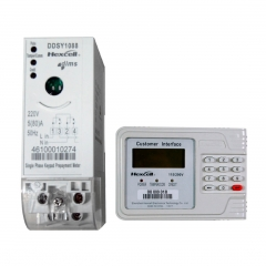 Smart Single Phase Prepaid Split Type Keypad Meter DDSY1088
